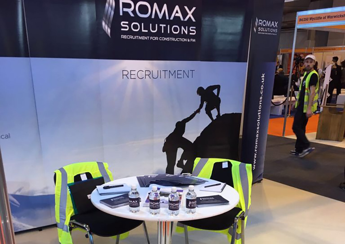Romax Solutions attends UK Construction Week
