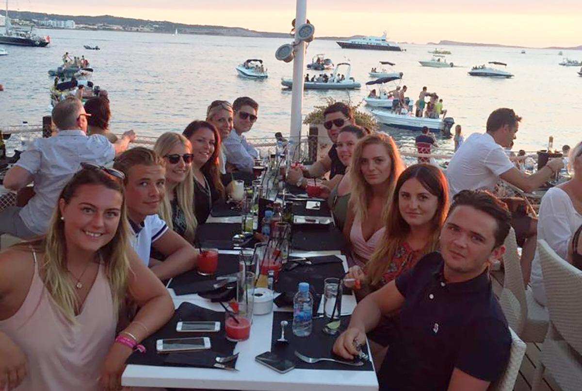 Romax team jets off to Ibiza